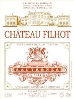 Château Filhot 2014